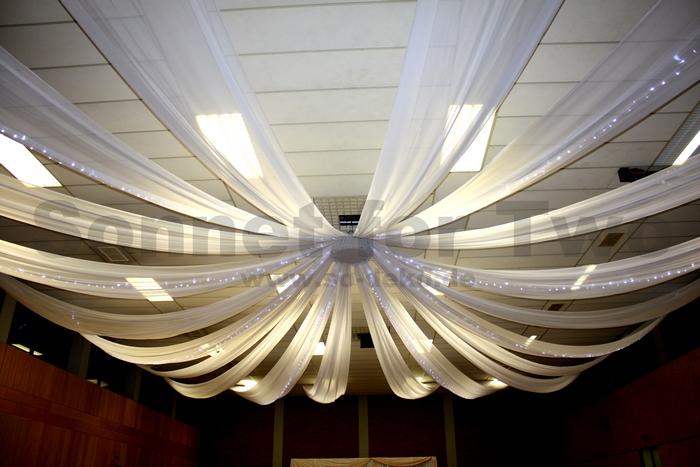 Baldachin: Dekoration, Hochzeitsdekoration, Stuhlhussen ...