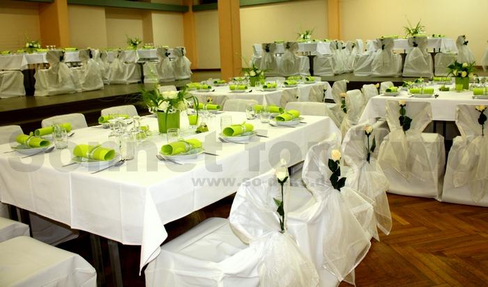 ... in weiß grün für Hochzeit – Günstig und einfach zum B